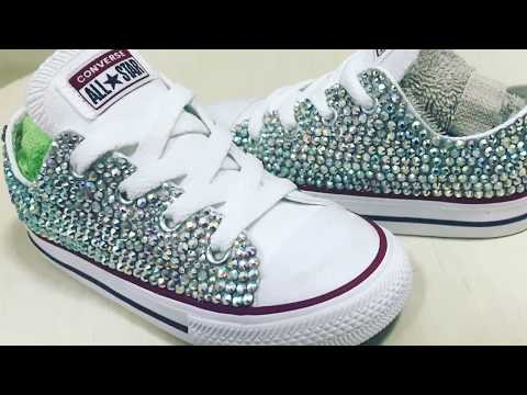 How To Add Swarovski Crystal Bling To Converse