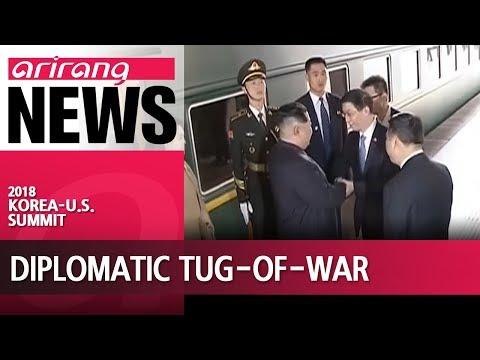 S. Korea-U.S. summit takes place amid diplomatic tug-of-war in Northeast Asia