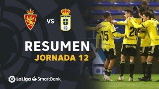 Resumen de Real Zaragoza vs Real Oviedo (1-2)