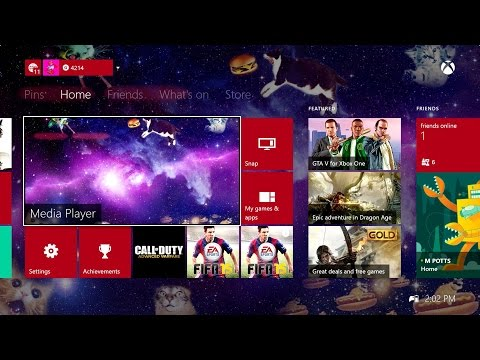 How to change the background of your Xbox One Dashboard