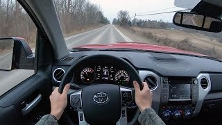 2019 Toyota Tundra SR5 Double Cab - POV Test Drive (Binaural Audio)