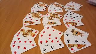 ♦БУБНОВАЯ ДАМА, гадание онлайн на  игральных  картах,  ближайшее будущее, цыганский