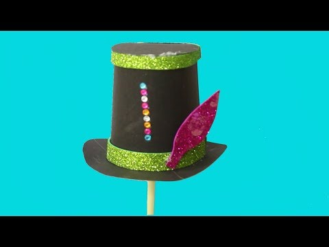 Beautiful Hat For Home Decor - Home Decor Craft Idea | Paper Craft For Home Decor | Craft Idea