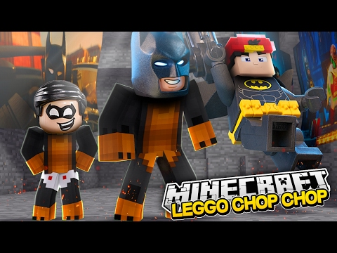 Minecraft CHOP CHOP - LEGO MOVIE CHOP CHOP w/LITTLE ROPO - Donut the Dog Minecraft  Roleplay