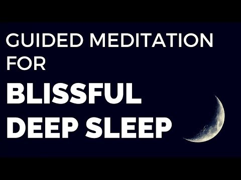 Guided Meditation for Blissful DEEP SLEEP Scenic Beach Vacation