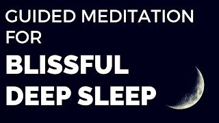 Guided Meditation for Blissful DEEP SLEEP (Scenic Beach Vacation)