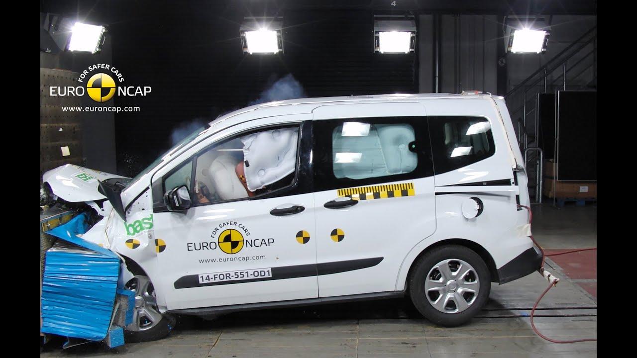 Ford Tourneo Courier Crash Test Euro Ncap Youtube
