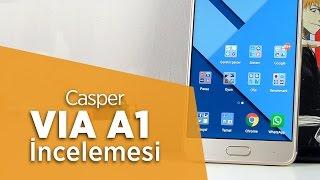 casper via a1 via da ıtayı ykselten telefon incelemesi