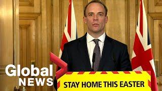 Coronavirus outbreak: UK official says PM Boris Johnson remains in ICU but improving | LIVE