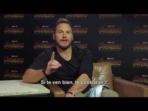 Avengers: Infinity War, de Marvel Studios  Chris Pratt hablando español