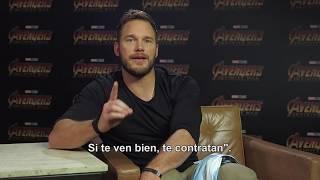 Avengers: Infinity War, de Marvel Studios - Chris Pratt hablando español