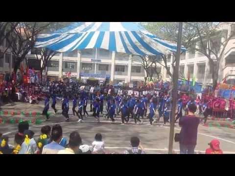 Dân vũ lớp 12A3 ngày 12-2-2015