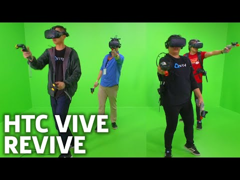 HTC Vive Pro Raises the Bar for Virtual Reality | CES 2018