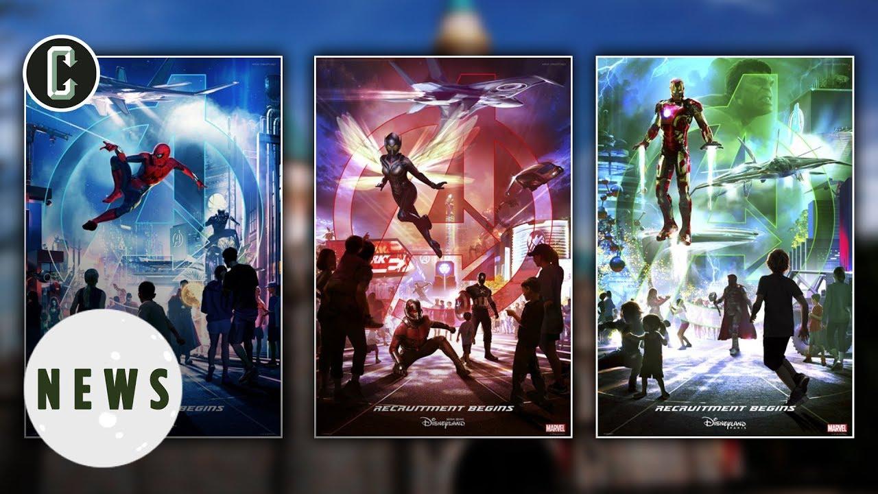 Disneyland Announces Avengers Expansion