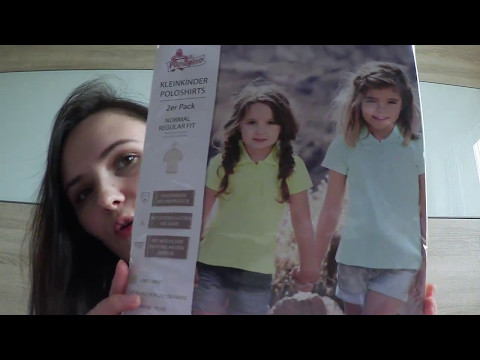 Покупки детской одежды Primark/Aldi