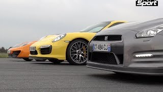 Porsche 911 (991) Turbo S Engine : flat six biturbo Power : 560 PS ...