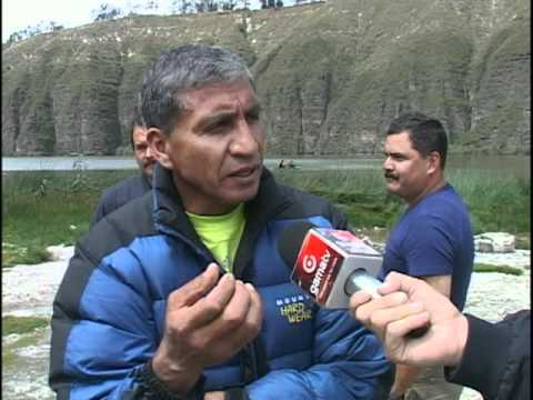 Se cumplió un peritaje en la laguna de Yambo por el caso hermanos Restrepo