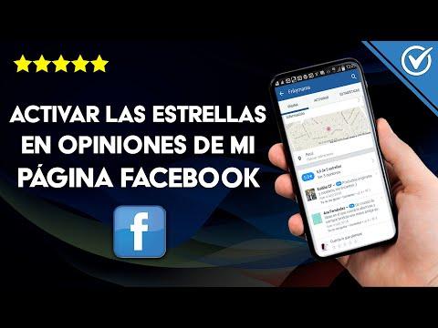 Cómo Activar y Poner las Estrellas en Opiniones y Calificaciones en mi Página de Facebook