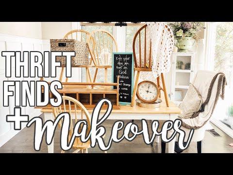 THRIFT FINDS + HUGE DINING ROOM MAKEOVER | Part 1