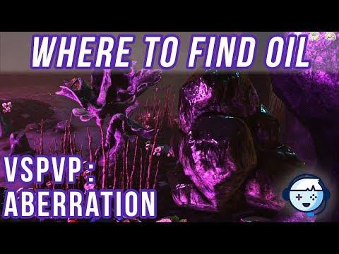 Where to Find Oil | VsPVP: Aberration Ep:25 | Ark: Survival Evolved