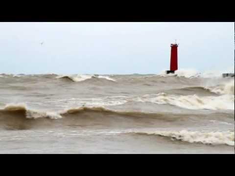 Hurricane Sandy Visits Sheboygan, Wisconsin