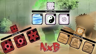 I Unlocked All Moves For Sand, Sharingan, Byakugan!   NxB NRPG: Beyond - Roblox