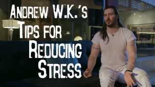 Andrew W.K.'s Tips For Reducing Stress | TheBlaze Video Op-Ed