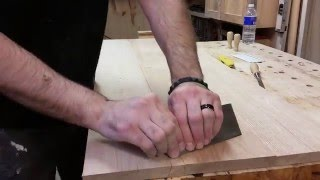 How to build a coffee table w/ storage - part 1