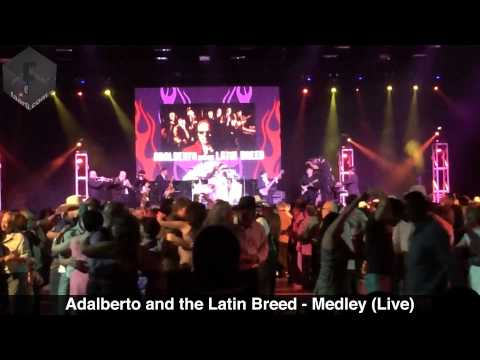 Adalberto and the Latin Breed - Medley (Live @ Tejano Music National Convention 2014, Las Vegas, NV)