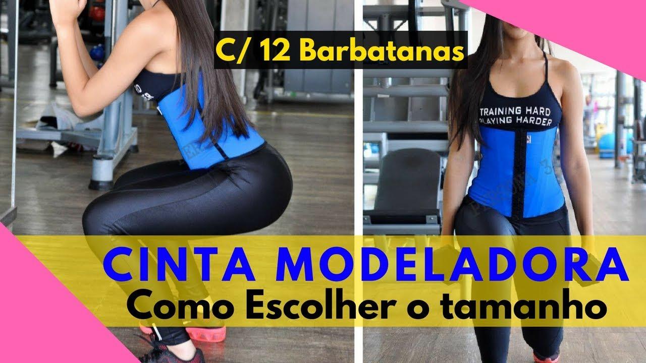 b597dc4db Cinta Modeladora Persona 3 - Modelo faixa 12 barbatanas - YouTube