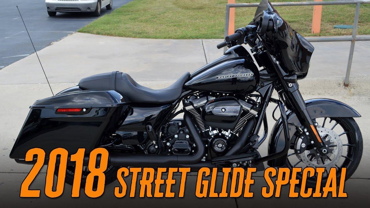 2018 Harley Davidson Flhxs Street Glide Special Vivid Black Youtube
