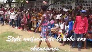 Défilé de mode exhibant le talent et l'ingéniosité couturières formées par HPP-Congo