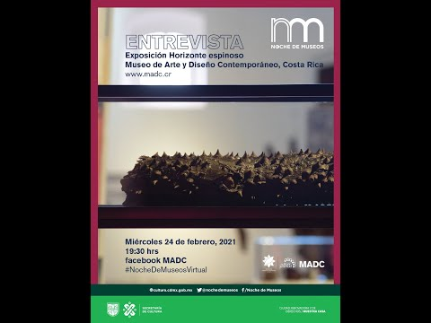 Noche de Museos: Museo de Arte y Diseño Contemporáneo (MADC) de San José, Costa Rica.