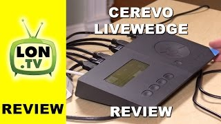 Cerevo Livewedge Inexpensive HDMI Video Switcher Review - Compare to Blackmagic ATEM