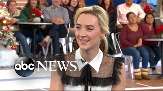 Saoirse Ronan says first-time movie director Greta Gerwig was born to do