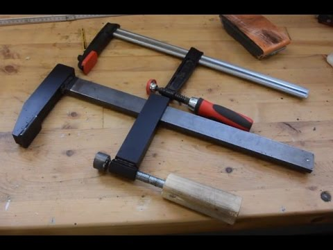 Building a Heavy Duty Bar Clamp