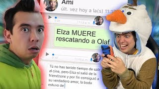 BROMA A AMI RODRIGUEZ Y AMARA QUE LINDA con SPOILERS de FROZEN 2
