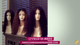 American Wigs & Fashion Boutique Commercial 2021