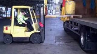 Fork Truck Accident
