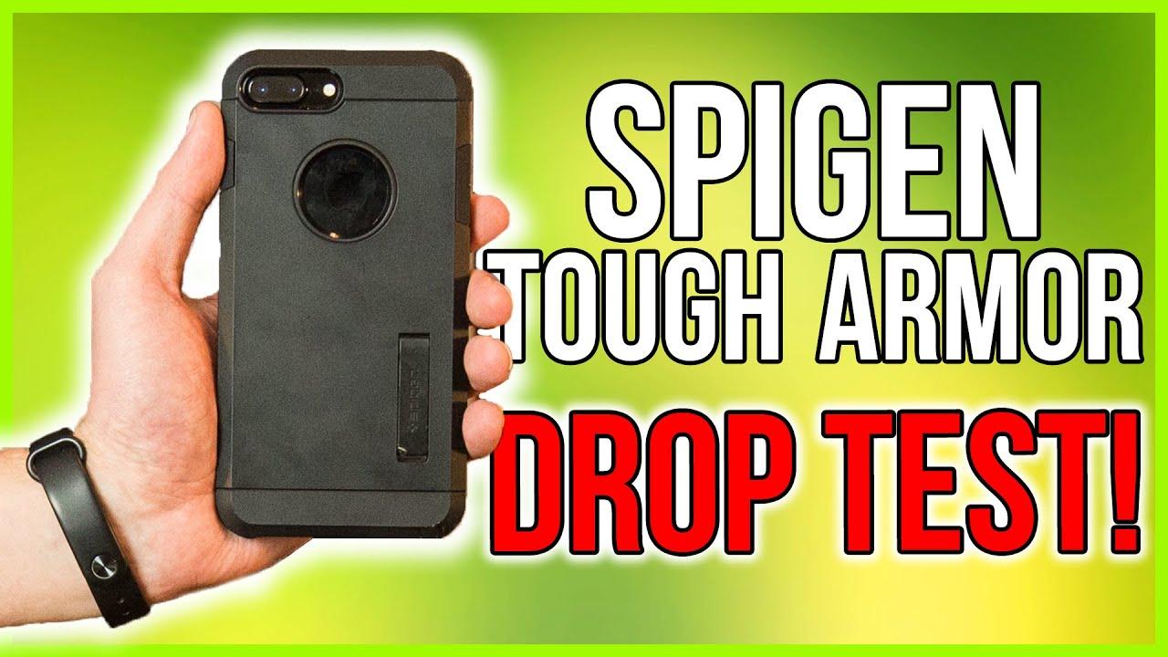 factory authentic d816b 1a80b Spigen Tough Armor Case Review - Extreme Drop Test!