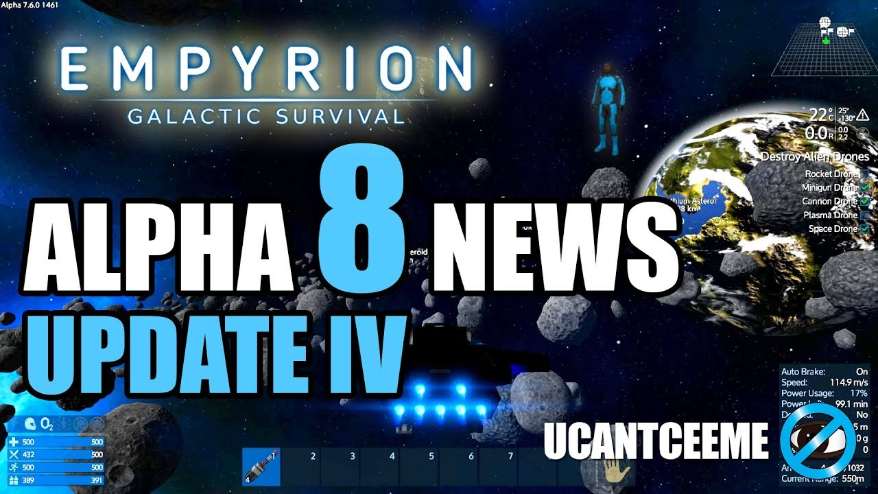 Empyrion Galactic Survival | ROAD TO ALPHA 8 NEWS UPDATE IV | BIGGER BETTER  PLANETS | Ep  28