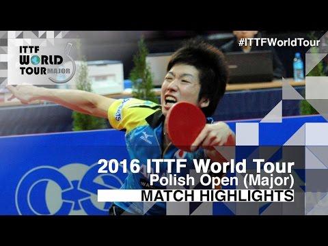 2016 Polish Open Highlights: Jun Mizutani vs Taku Takakiwa (1/4)