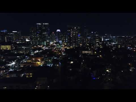 Fort Lauderdale - Las olas - night time - skyline