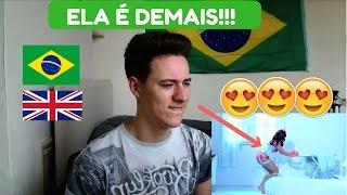 Gringo Reage A ANITTA- Essa Mina É Louca - Anitta Part. Jhama