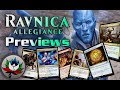 Ravnica Allegiance Spoilers: Dovin's Acuity, Font of Agonies, Skewer the Critics, and more – MTG!