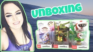 Super Smash Bros. Ultimate - Piranha Plant, King K. Rool & Ice Climbers amiibo - Unboxing