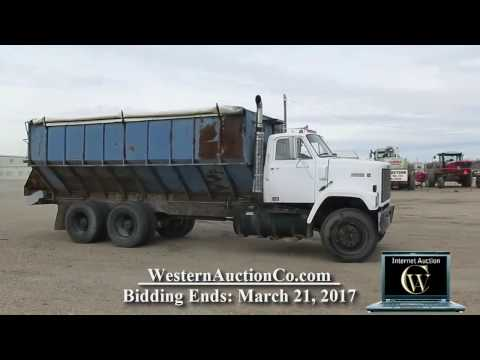 826E   1980 GMC Brigadier 20' Self Unloading Bed