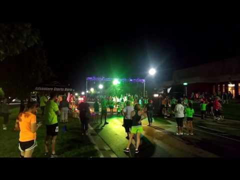 Night race at OARDC