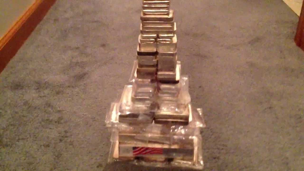 My Silver Stack Quot Silver Tower Quot Over 600 Ounces Of Silver