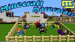 ÖRÜMCEK KÖYÜNDE HERKES ÖKÜZ OLDU (Minecraft Maceraları 113. Bölüm)